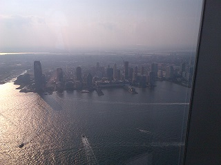 Hudson River and Jersey City