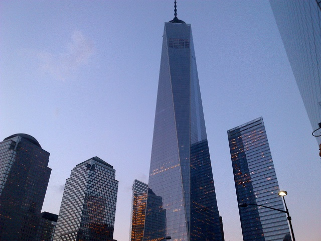 One World Trade Center At Dusk