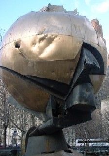 The Sphere, formerly in WTC Plaza, now in Battery Park City