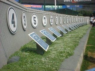 The Retired Numbers